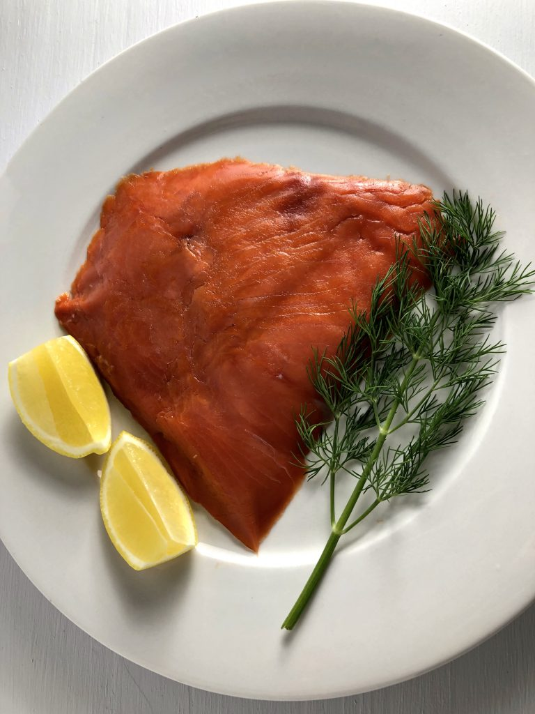 Wild Alaskan Smoked Salmon, Lemon, and Dill