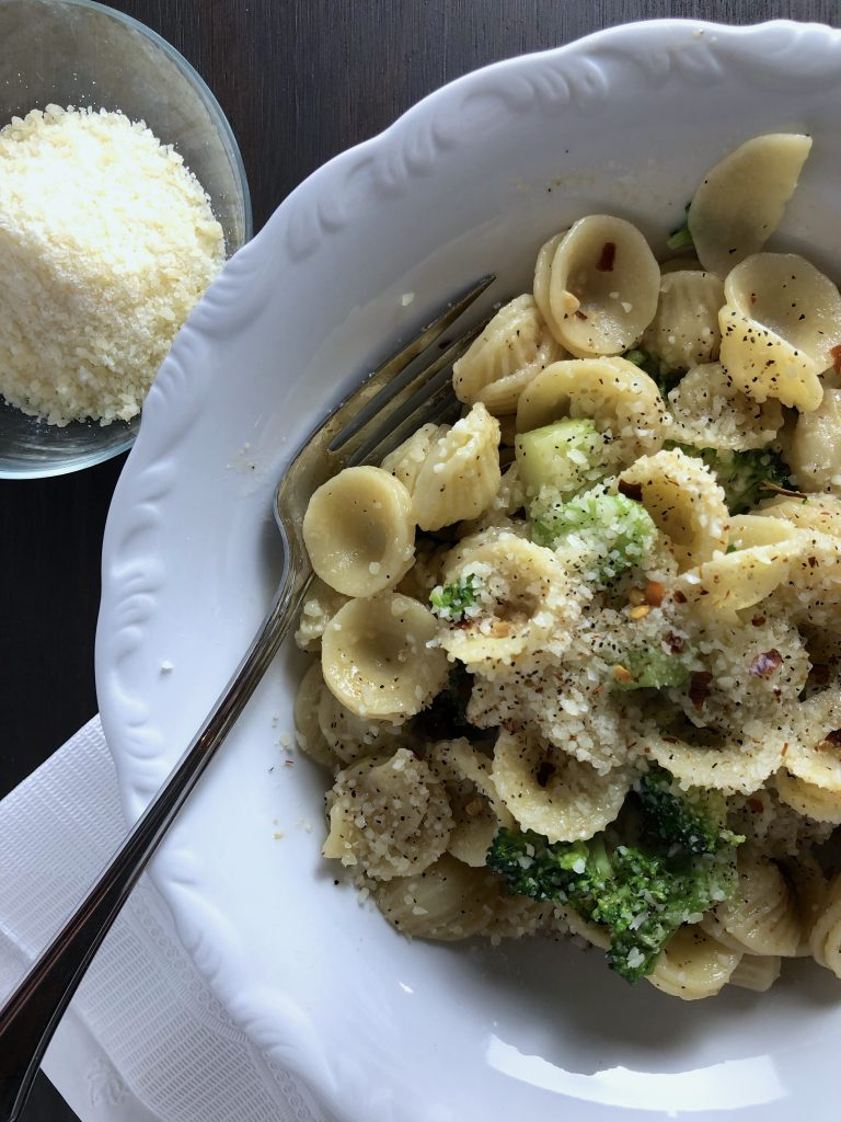 Orecchiette with Broccoli and Parmesan