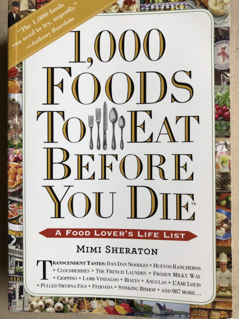 1,000 Foods to Eat Before You Die Front Jacket