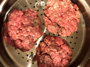 Beef Patties for Connecticut Steamed Cheeseburgers In a Steamer