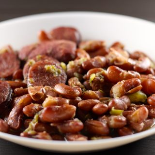 New Orleans Style Red Beans in a bowl