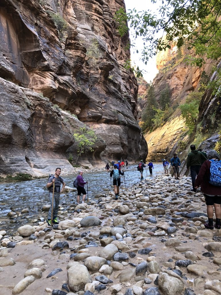 The Narrows Hike Zion National Park
