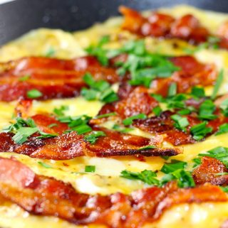 Danish Bacon and Egg Pancake