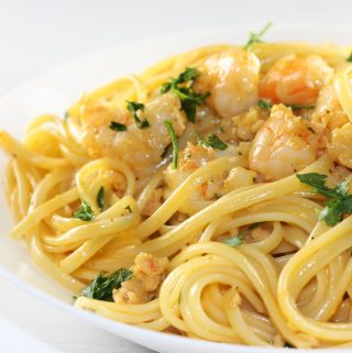 Linguine With Pink Shrimp Sauce