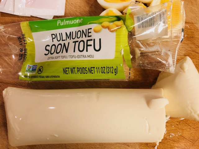 Pulmuone Extra Soft Tofu and Eggs