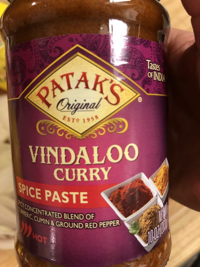 Patak's Vindaloo Curry Paste