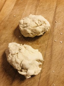 dough to make fry breads