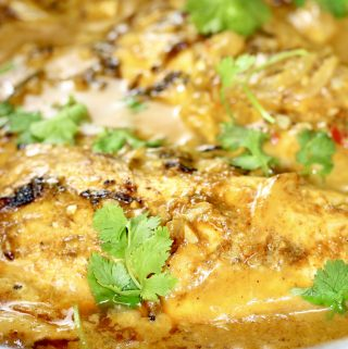 Indian Spiced Tilapia In Coconut Milk