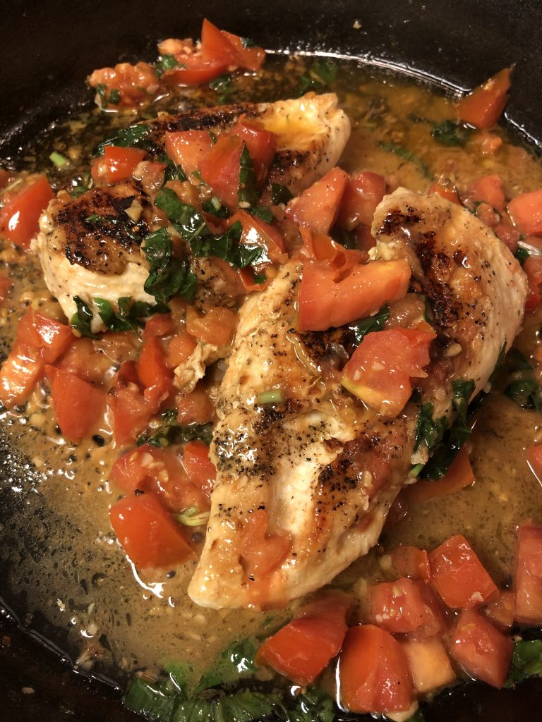 Tomato Basil Chicken