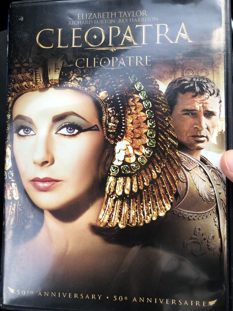 Pic of the cover of the DVD for Cleopatra