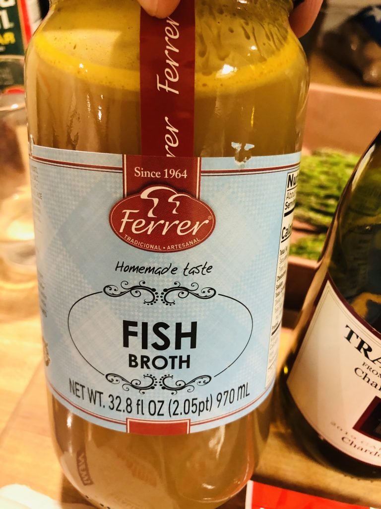 Jar of Fish Broth