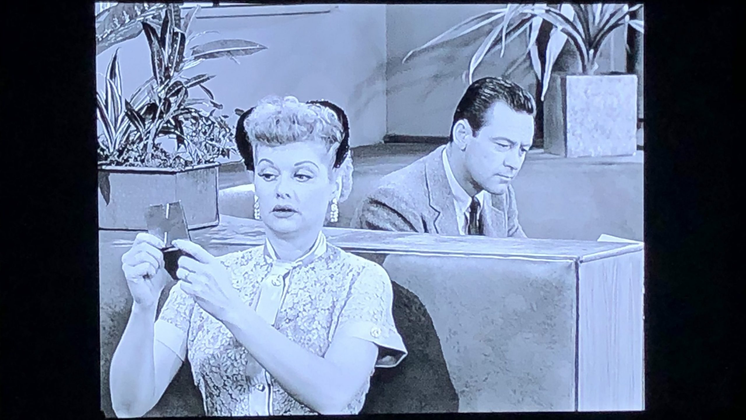 I Love Lucy episode with Lucille Ball and William Holden