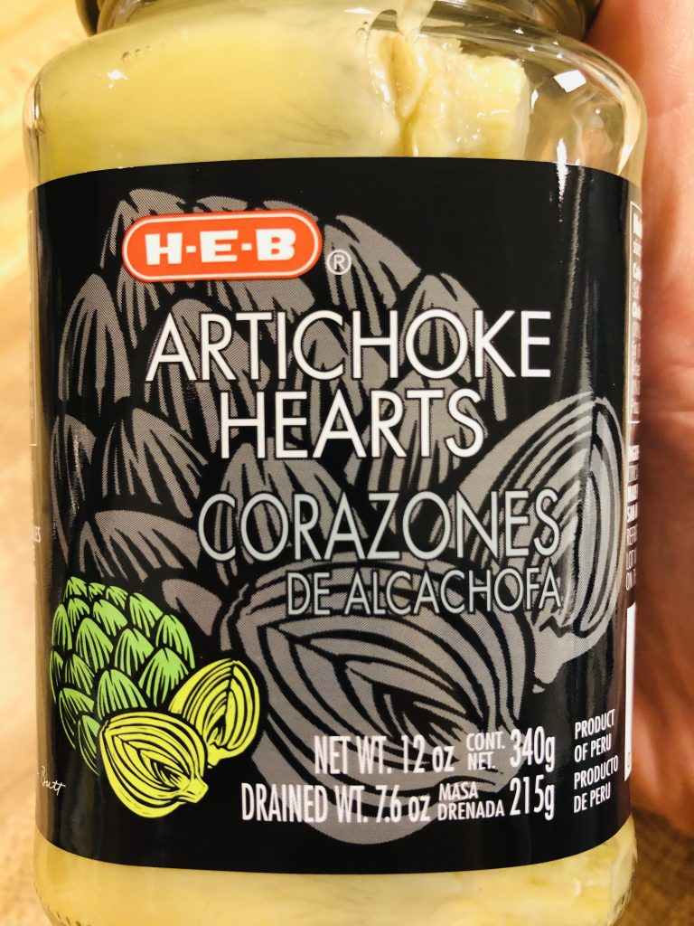 Jar of Artichoke Hearts