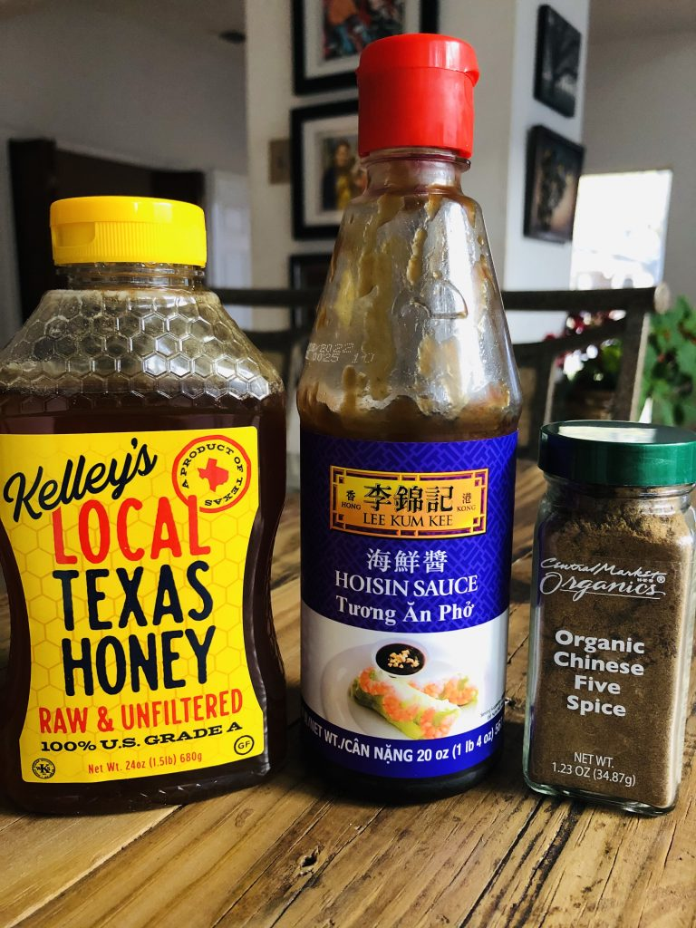 Honey, Hoisin Sauce, and Chinese 5 Spice